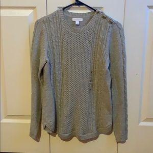 Brand new charter club sweater